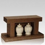Cremation-Granite-Bench-with-Urns-in-Niche