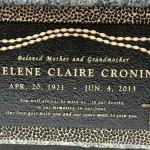 bronze_headstone_helene_claire_cronin_cr_bronzeworks